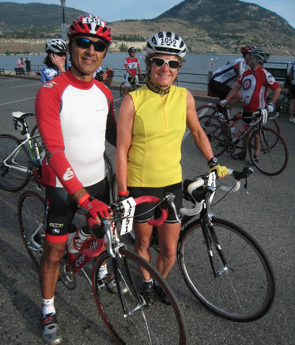 Bicycling Penticton and Staying at the Bowmont Motel
